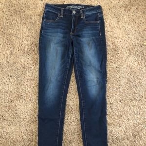 Medium washed American Eagle jeans